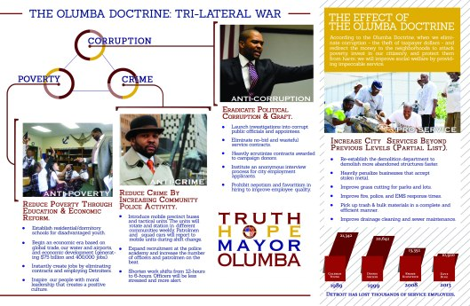THE OLUMBA DOCTRINE TRILATERAL WAR